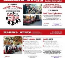 MARINA DI GUSTO – CAGLIARI – 11-13 AGOSTO
