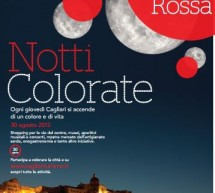 COLORED NIGHTS – THE RED NIGHT – CAGLIARI – THURSDAY AUGUST 30