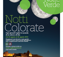 COLORED NIGHTS – THE GREEN NIGHT – CAGLIARI – THURSDAY AUGUST 23