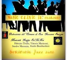 MUSIC CLINIC – SEMINARIO JAZZ – SAN GIOVANNI SUERGIU – VENERDI 24 AGOSTO