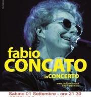FABIO CONCATO LIVE – ORISTANO – SABATO 1 SETTEMBRE