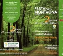 FESTA DELLA MONTAGNA – TEMPO PAUSANIA – 14-15 AGOSTO