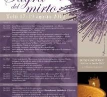 SAGRA DEL MIRTO – TELTI – 17-19 AGOSTO