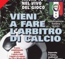 SOCCER REFEREE COURSE FOR FREE -CAGLIARI – FROM OCTOBER