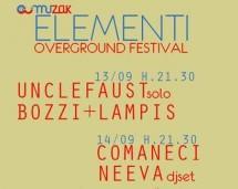1° EDIZIONE ELEMENTI OVERGROUND FESTIVAL -MUZAK – CAGLIARI – 13-14 SETTEMBRE