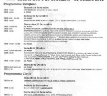 FESTA DI SANTA GRECA – DECIMOMANNU – 28 SETTEMBRE-2 OTTOBRE