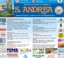 FESTA DI SANT'ANDREA E SAGRA DEL PESCE 2012 – ASSEMINI – 14-16 SETTEMBRE