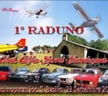 1°RADUNO ALFA ROMEO CLUB ALFA SPORT – DECIMOPUTZU – DOMENICA 23 SETTEMBRE