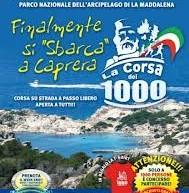"""1° EDIZIONE """"CORSA DEI MILLE"""" – LA MADDALENA E CAPRERA – DOMENICA 2 SETTEMBRE"""