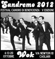 SANDREMO 2012 – WOK RESTAURANT – CAGLIARI – 6-13-20 OTTOBRE