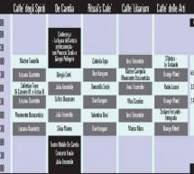 STUDI APERTI – CAGLIARI – DOMENICA 9 SETTEMBRE – PROGRAMMA COMPLETO