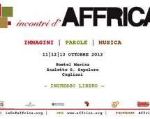 INCONTRI D'AFFRICA – HOSTEL MARINA – CAGLIARI – 11-13 OTTOBRE