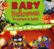 BABY HALLOWEEN PARTY – FRANCIS DRAKE – CAGLIARI – WEDNESDAY OCTOBER 31