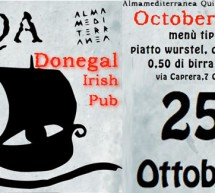 OKTOBERFEST 2012 – DONEGAL  – CAGLIARI – GIOVEDI 25 OTTOBRE