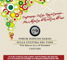 HISPANO-SARDO FORUM FOR WINE – VILLA MUSCAS – CAGLIARI – 16 TO 18 NOVEMBER