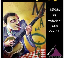 MAMBO DJANGO QUARTET LIVE – VINVOGLIO WINE JAZZ CLUB- CAGLIARI – SATURDAY OCTOBER 27