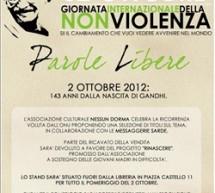 GIORNATA DELLA NON VIOLENZA – MESSAGGERIE SARDE – SASSARI – TUESDAY OCTOBER 2