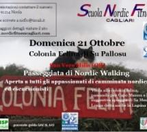 PASSEGGIATA DI NORDIC WALKING – DOMENICA 21 OTTOBRE