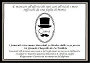 31/10/2012 HALLOWEEN – UNA NOIA MORTALE- LA PAILLOTE – CAGLIARI – MERCOLEDI 31 OTTOBRE