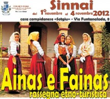 AINAS E FAINAS 2012 – SINNAI – 1-4 NOVEMBRE