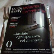 MONSTER PARTY – ZERO CLUB DISCO – CAGLIARI – MERCOLEDI 31 OTTOBRE
