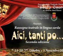 AICI TANTI PO – QUARTU S.ELENA – 20 OCTOBER TO 3 NOVEMBER