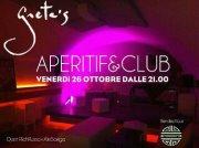 APERITIF & CLUB – GRETA'S – CAGLIARI – VENERDI 26 OTTOBRE