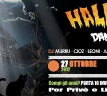 HALLOWEEN DANCE PARTY – CHARLIE DISCO CLUB – CAGLIARI – SABATO 27 OTTOBRE