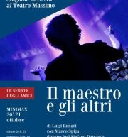 THE TEACHER AND OTHER – MASSIMO THEATRE – CAGLIARI – 20 TO 21 OCTOBER