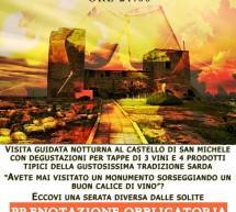 CASTELLO OF WINE – CAGLIARI – FRIDAY OCTOBER 19 AT 9:00 PM