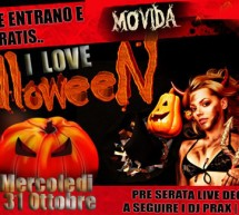 I LOVE HALLOWEEN – MOVIDA – CAGLIARI – MERCOLEDI 31 OTTOBRE