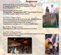 NURAGUSTIAMO -COLLINAS – SABATO 6 OTTOBRE