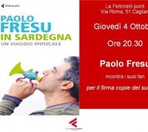 SPECIAL GUEST PAOLO FRESU – CAGLIARI – FELTRINELLI POINT – GIOVEDI 4 OTTOBRE