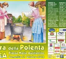 30° SAGRA DELLA POLENTA – ARBOREA – DOMENICA 21 OTTOBRE