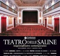 STAGIONE DI TEATRO CONTEMPORANEO – TEATRO DELLE SALINE – NOVEMBRE 2012-MARZO 2013