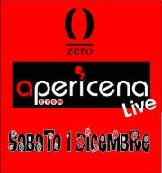 APERIDINNER LIVE & DISCO – ZERO CLUB – CAGLIARI – SATURDAY DECEMBER 1