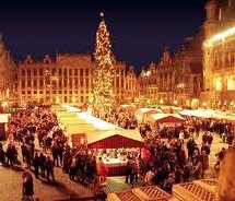 FLY TO BRUXELLES FOR CHRISTMAS MARKETS – FLY AND HOTEL FROM 240 €