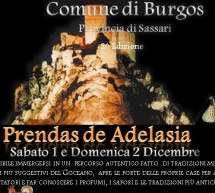 PRENDAS DE ADELASIA – BURGOS – 1 TO 2 DECEMBER