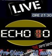 ECHO 80 LIVE – LOYAL CAFE' – CAGLIARI – VENERDI 2 NOVEMBRE