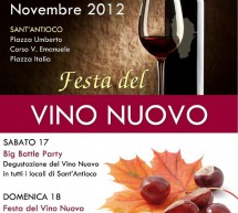 1st NEW WINE FESTIVAL – SANT'ANTIOCO – 17 TO 18 NOVEMBER