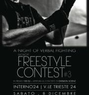 FREESTYLE CONTEST – INTERNO 24 – CAGLIARI – SATURDAY DECEMBER 8