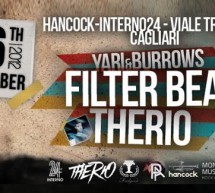 UNDERBOMBING ! THERIO & FILTER BEAT -HANCOCK-INTERNO 24 – CAGLIARI – FRIDAY NOVEMBER 16