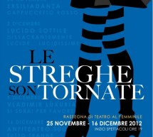 LE STREGHE SON TORNATE – CAGLIARI – 25 NOVEMBRE-16 DICEMBRE (en)