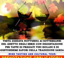 NEW WINE IN THE CASTLE – GHETTO – CAGLIARI – FRIDAY NOVEMBER 16