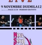 NONSOULFUNKY LIVE – LOYAL CAFE' – CAGLIARI – FRIDAY NOVEMBER 9