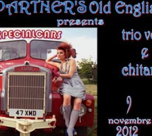 SPECIALCARS TRIO – THE PARTNER'S OLD ENGLISH PUB – CAGLIARI – VENERDI 9 NOVEMBRE