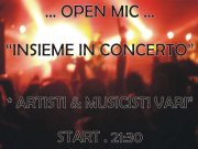 OPEN MIC ….TOGETHER IN CONCERT- DONEGAL – CAGLIARI – THURSDAY NOVEMBER 8