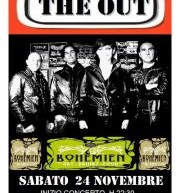 THE OUT LIVE – THE BOHEMIEN – CAGLIARI – SABATO 24 NOVEMBRE