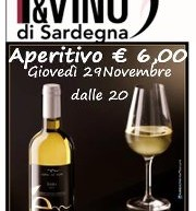 APERITIF WITH BRENNAS AND 'ENTU – PANE E VINO – CAGLIARI – THURSDAY NOVEMBER 29