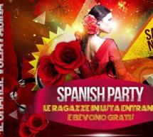SPANISH PARTY – CHARLIE DISCO CLUB – CAGLIARI – SABATO 10 NOVEMBRE